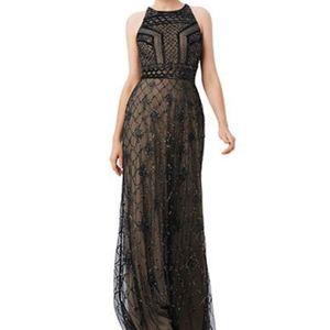 Cache Beaded Evening Dress
